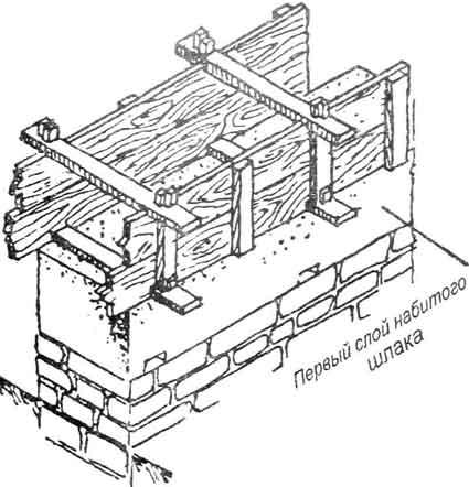 Как сделать дом из шлака 791